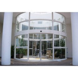 Round And Curved Door, For Offices, Airport