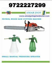 Petrol Wood Cutting Machine