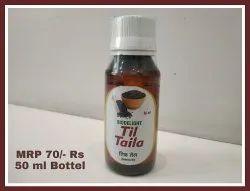 Amber Cold Pressed Sesame Oil, Packaging Type: Plastic Bottle