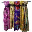 Pure Kantha Silk Scarf