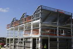 Steel Framed Building Construction Services