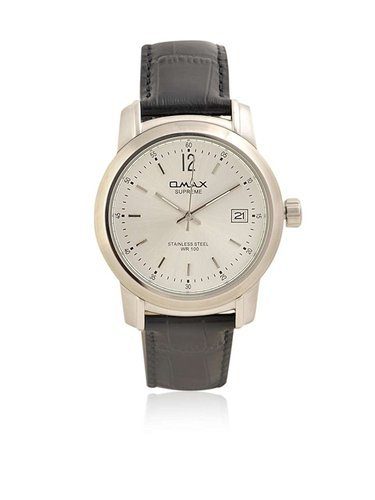 OMAX Analog Silver Dial Men's Watch - ST1857