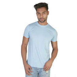 Cotton XL Mens Plain T Shirts