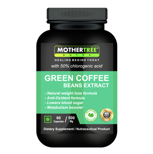 Green Coffee Beans Extract Capsules For Personal Grade Standard