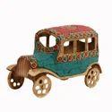 Brass Golden Miniature Vehicles Brass Showpiece