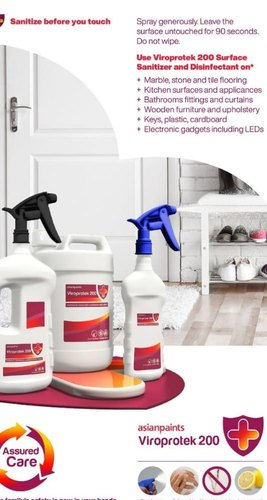 asianpaints Viroprotek 200 Surface Sanitizer and Disinfectant Spray