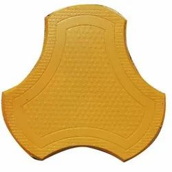 Ruby Concrete Yellow Cosmic Paver Block for Pavement, Thickness: 60 mm