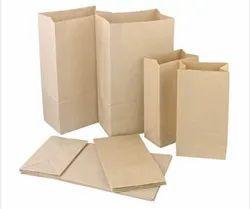Square Bottom kraft paper bags
