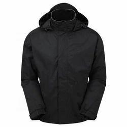 Polyester Black Fulmar Bomber Jacket