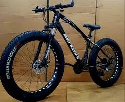Bengshi Black Fat Tyre Cycle