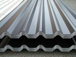 Grey PVC Coated Aluminium and GI Sheets