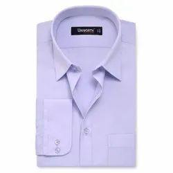 Cotton Plain Mens Full Sleeve Shirt, Machine and Hand Wash