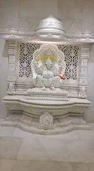 White Pooja Mandir
