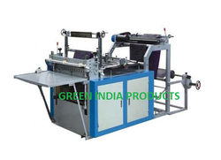 roll feed paper cutting machine paper fabric sheet pp