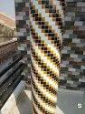 Pillars Mosaic Tiles