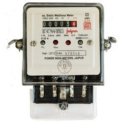 Ac Static Watt Hour Meter