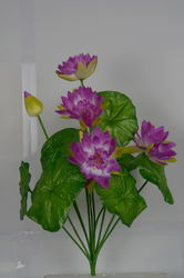 Artificial Lotus Flower Bunch