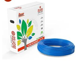 Copper Polycab 0.75mm Wire (90mtr), For House Wiring