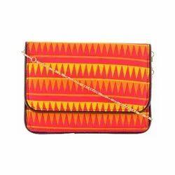 Azzra Red Casual Designs Women Clutch