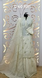 Cotton Sharara Suit