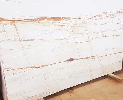 White Imported Marble Italian Marble, Thickness: 15-20mm