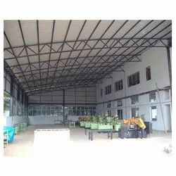 Factory Shed Design, for Industrial, Steel