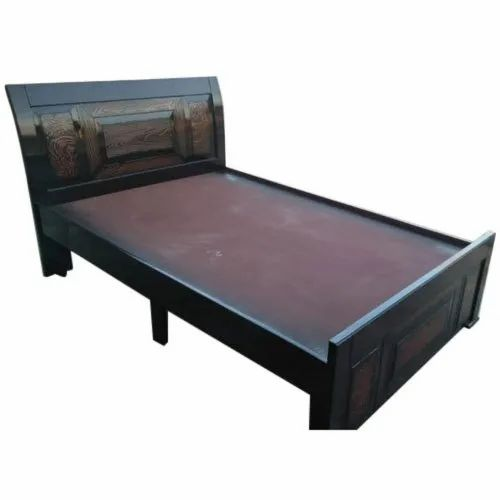 the best attitude 864ff b2021 Teak Wood Single Bed