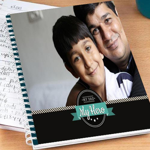 Personalize Notebook For Dad