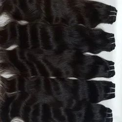 Unprocessed Raw Cuticle Aligned Human Hairs
