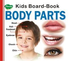 Kids Board Book Body Parts