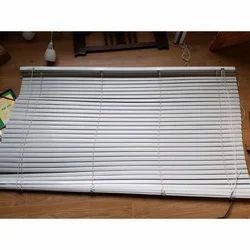 White PVC Foldable Window Blinds