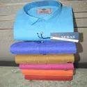 Mens Mix Cotton Plain Shirt