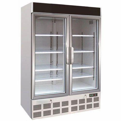 Metal Glass Door Freezer Rs 122000 Piece Bharat Refrigeration