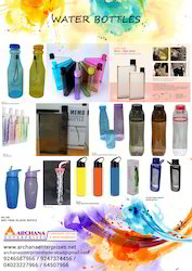 Water Bottle, Capacity: 500 And 650 Ml