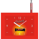 Rectangle Clock And Pen Combo Gift Pack