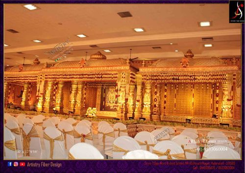 Manovari Wedding Mandapam Setup