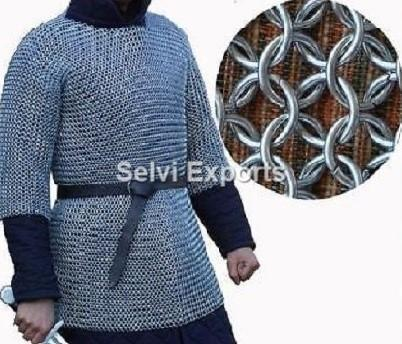 Butted Chainmail Shirt Rust Proof Chain Mail Armor