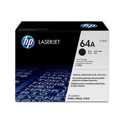 Black HP 64a Laser Jet Print Cartridge C364a