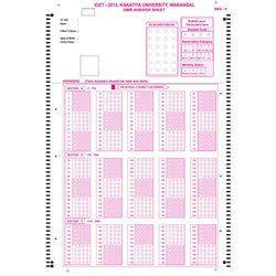 Employee Promotion Assessment OMR Sheets