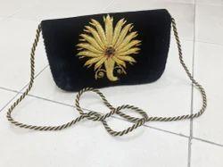 Velvet Ladies Handmade Shoulder Bag