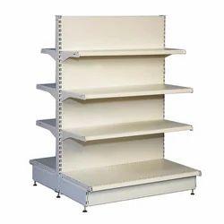Mild Steel Free Standing Unit Hypermarket Display Rack, Size: 5 Feet X 3 Feet