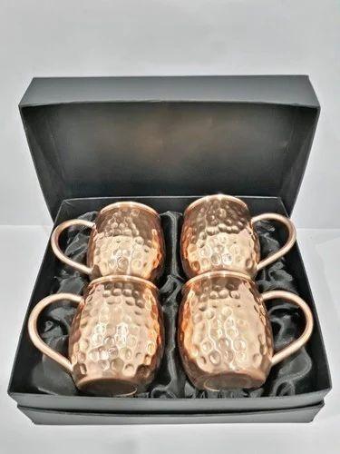 Copper Mug 4 Pcs Set of 50
