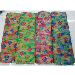 Printed Cotton Fabric, GSM: 50-100 GSM