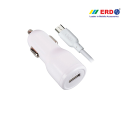 CC 50 Micro USB White Car Charger