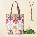Multicolor Printed Tote Bags