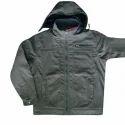Medium, Large Black Rexine Jacket