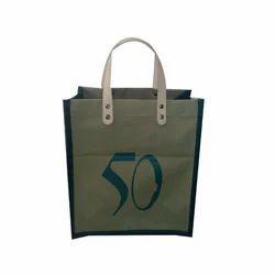 Jute Webbing cotton handle Stylish Canvas Shopping Bags, Capacity(Kilogram): 8-10 Kg