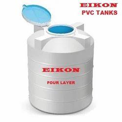PVC Tank EIKON 1000ltr -4 Layer-White - Plastic Water Tank