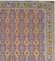 Handmade Wool Saree Silk Oxidized Carpets