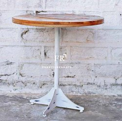 Cafeteria Furniture  Vintage Farm Style Pub Table